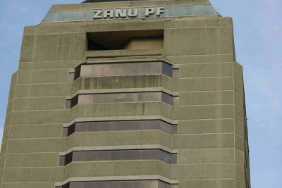 ZANU-PF Party headquarters.