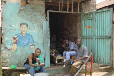 Unemployed youths in Sierra Leone