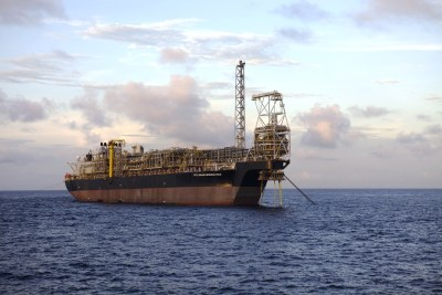 Installation of The Kwame Nkrumah FPSO on the Jubilee Field in Ghana (file photo).