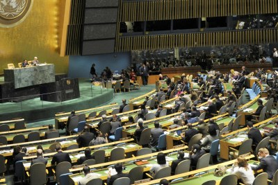 UN General Assembly backs ICC over Kenya Cases (file photo).