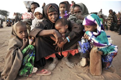 Migrants travelling south from somalia:Many Horn migrants begin their journeys at refugee camps in northern Kenya.