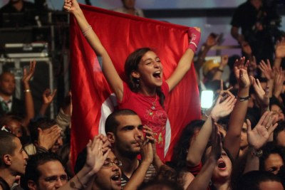 'Africa Celebrates Democracy' concert in Tunis