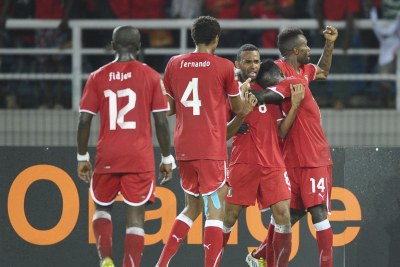 Equatorial Guinea national soccer team.