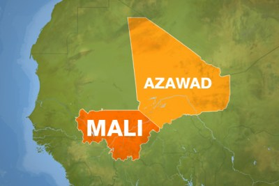 The Azawad region in northern Mali.