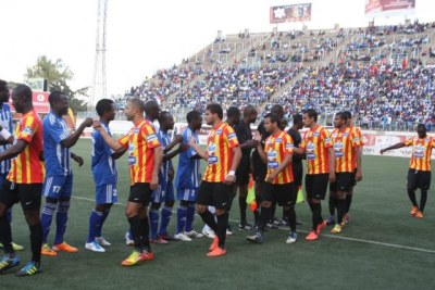 The Zimbabwean Dynamos and Esperance Sportive de Tunis Match.