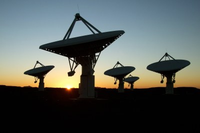 South Africa's Karoo Array Telescope (file photo).