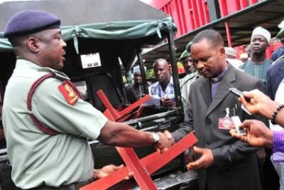 Army presents anti-bombing devices to Churches, Mosques