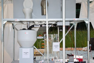 California Institute of Technology in the U.S. won the 'Reinvent the Toilet' challenge for designing a solar-powered toilet that generates hydrogen and electricity.