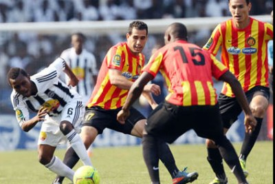 Tunisia's Esperance in action against TP Mazembe of Democratic Republic of Congo  (File Photo)