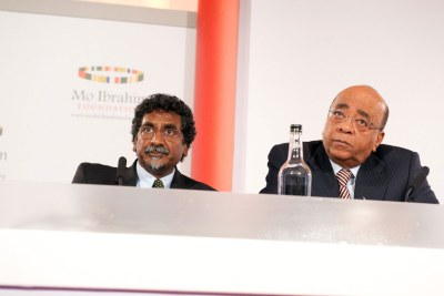 Mo Ibrahim and Jay Naidoo