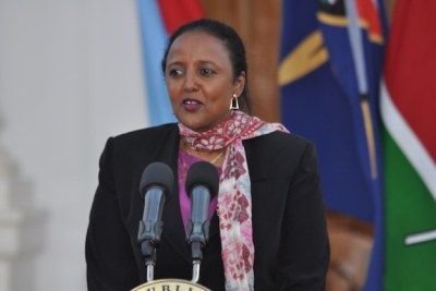 Kenya's Ministry of Foreign Affairs, Amina Mohamed.