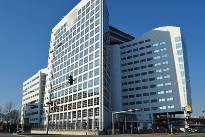 The International Criminal Court in The Hague, Netherlands (file photo).