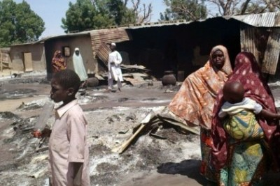 Boko Haram attacks Konduga village.