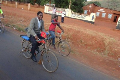 Hakainde Hichilema (file photo).