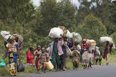 Displaced persons in Dr Congo