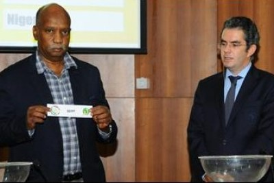 African Games Brazzaville 2015 draw in Egypt