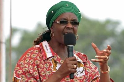ZImbabwe First Lady Grace Mugabe (file photo).