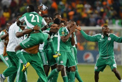 The Super Eagles (file photo).