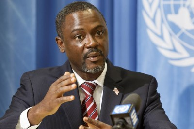 Commerce Minister of the Republic of Liberia, Axel Addy.