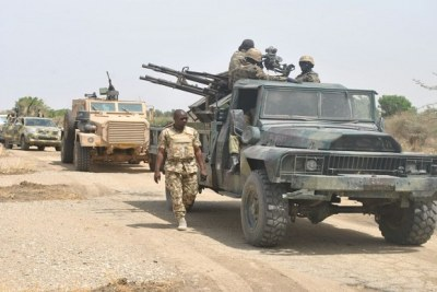 Boko Haram: Joint clearance operations with Cameroonian soldiers