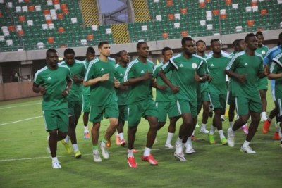 Nigeria's senior  soccer team - The Super Eagles (file photo).
