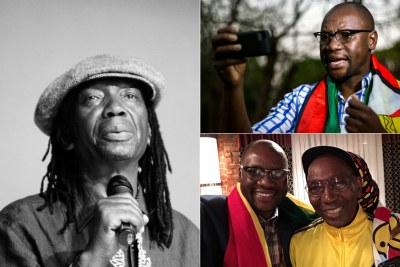Evan Mawarire and Thomas Mapfumo.