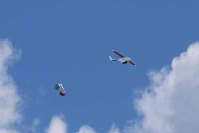 A drone transporting medical supplies (file photo).
