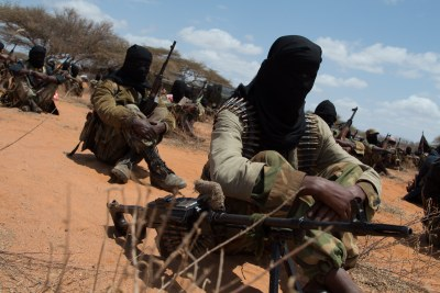 Al-Shabaab fighters (file photo).