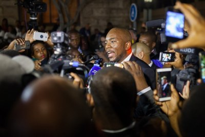 Democratic Alliance leader Mmusi Maimane (file photo).