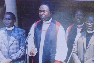 Archbishop Luwum was murdered by president Idi Amin on February 16, 1977 at Nakasero following a period of tension and showdown with the regime.