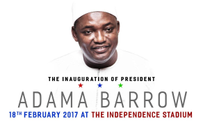Gambia's President Inaugurated With Fanfare, Cheers