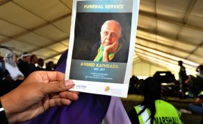 South Africa's Kathrada 'Disturbed' by Post-Apartheid Politics?