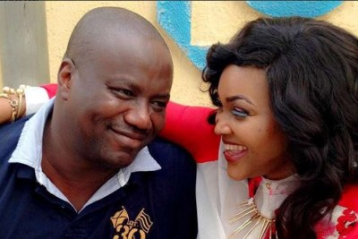 Mercy Aigbe and husband Lanre Gentry (file photo).