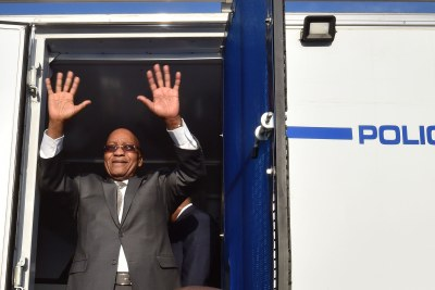 Jacob Zuma (file photo).