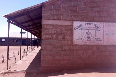 Kirimon Primary School in Samburu West turned into a battlefield as pupils attacked their teachers.