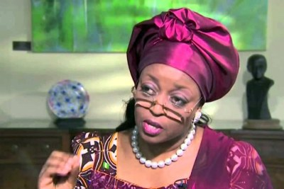 Former Petroleum Miniister, Diezani Allison-Madueke (file photo).