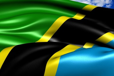 The Tanzanian flag (file photo).