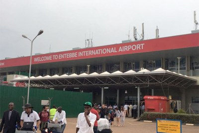 Entebbe International Airport (file photo)