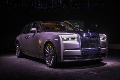The Rolls-Royce Ghost 2017, First Lady Grace Mugabe's new acquisition.