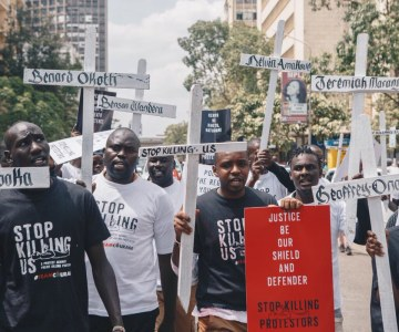 Kenyans Take to the Streets to Protest Against Police Brutality