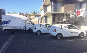 Namibian Students 'Engineer' Fast, Reliable Courier Service