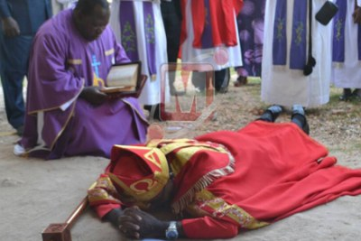 The South Eastern Diocese Bishop of the Evangelical Lutheran Church of Tanzania (ELCT), Dr Lucas Mbedule