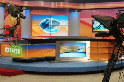 Citizen TV Studio, Nairobi.