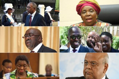 David Mabuza was named deputy president, Nkosazana Dlamini-Zuma is Minister in the Presidency: Planning, Monitoring & Evaluation, Nhlanhla Nene will be finance minister, Malusi Gigaba is home affairs minister, Bathabile Dlamini is now Minister of Women in the Presidency and Pravin Gordhan returns to the Cabinet as Public Enterprises Minister.