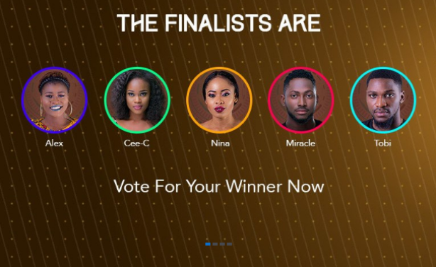 BBNaija 2018: Miracle Declared Winner; Cee-C Comes Second