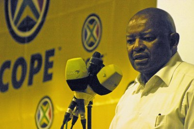 COPE leader Mosiuoa Lekota (file photo).