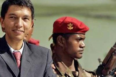 Madagascar's leader, Andry Rajoelina (file photo).