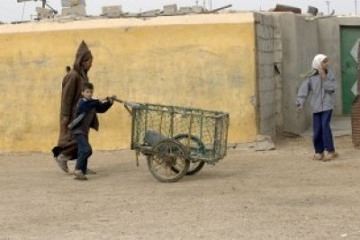 Locals of Dakhla City, Western Sahara.