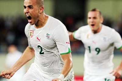 Madjid Bougherra,joueur algérien