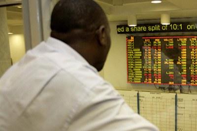 Bourse de Nairobi.